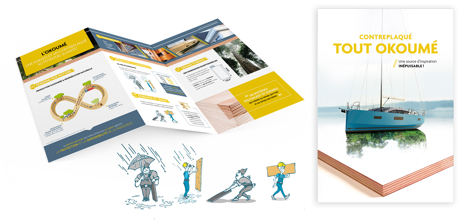 Brochure okoume par AxellesCom