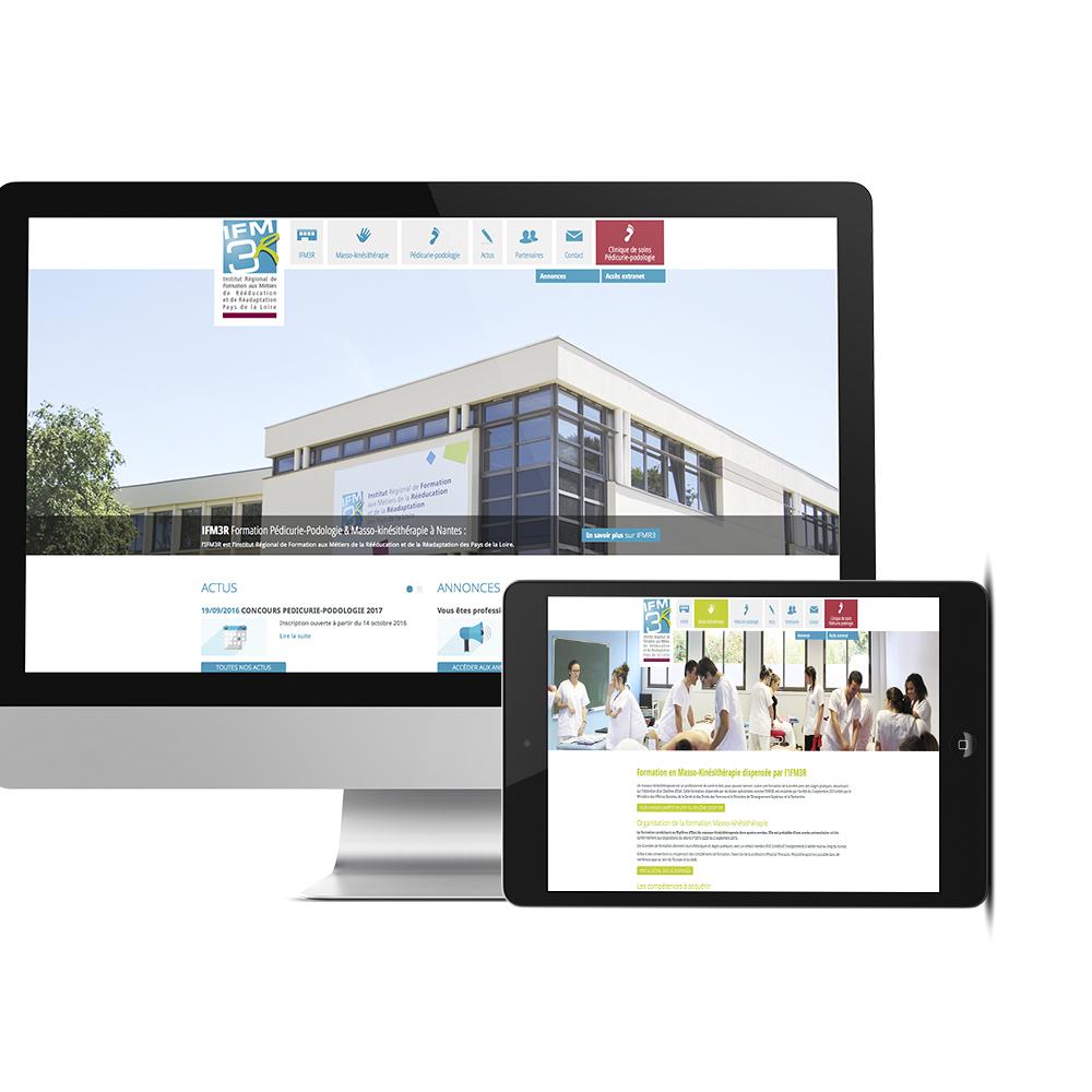 Site web IFM3R 44 axellescom