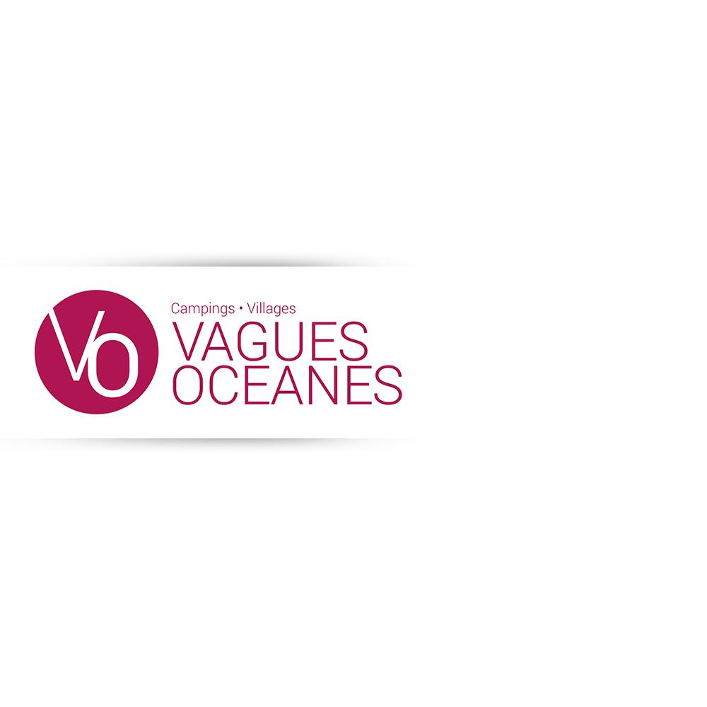 Vagues Océanes - logo identité