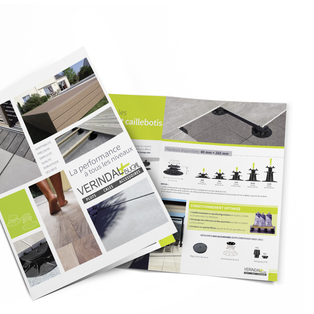 Bugal - Verindal - Brochure tendance